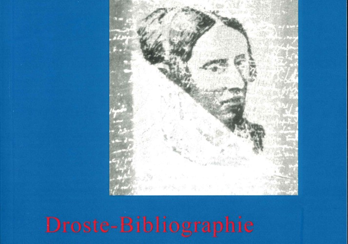 Cover: Droste-Bibliographie 1981-2003