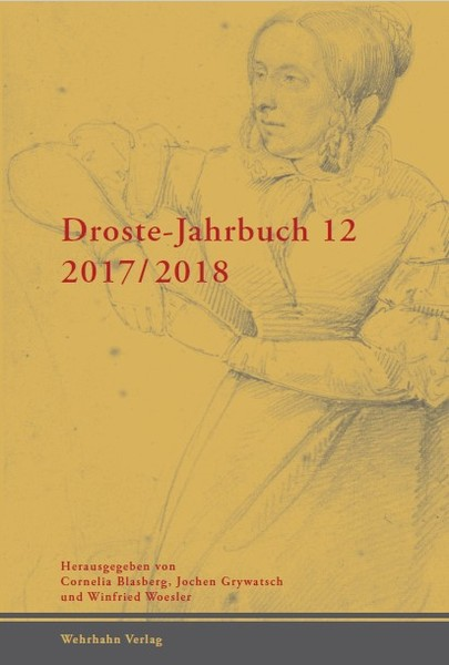 Droste-Jahrbuch 12, Cover